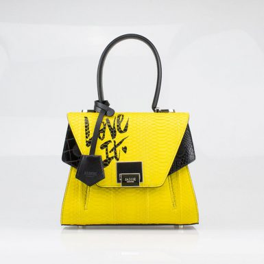 Borsa a spalla donna Lily Love It Yellow Jadise fronte occhi