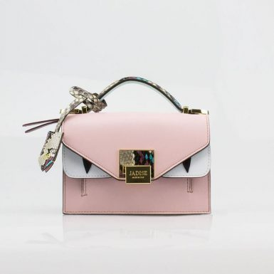 Borsa a spalla donna Lily Audrey Pink Jadise fronte occhi