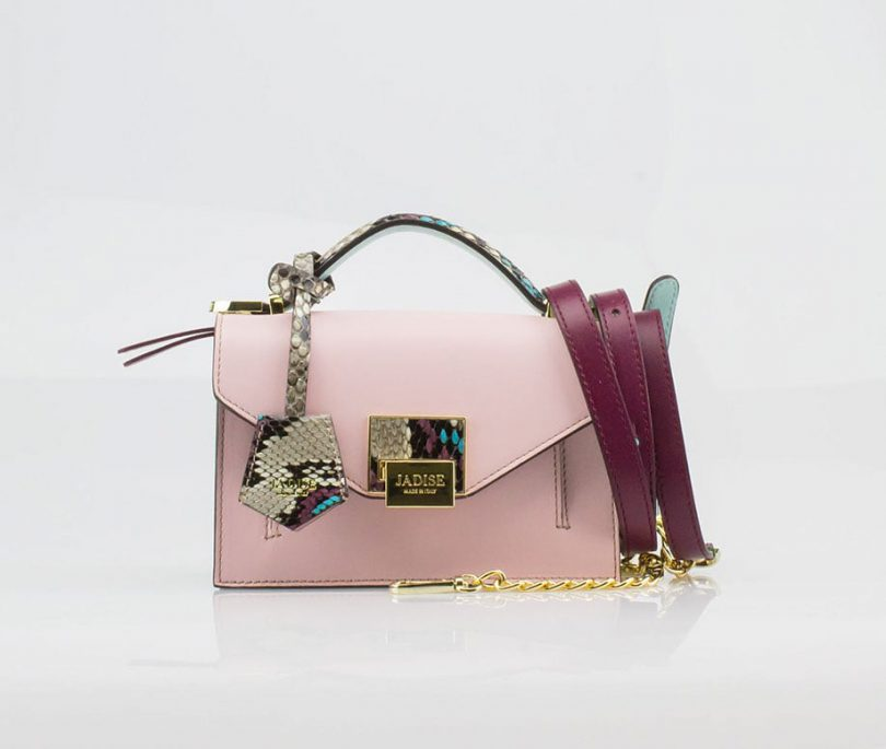 Borsa a spalla donna Lily Audrey Pink Jadise tracolla