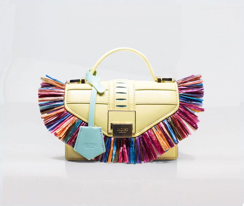 Borsa a spalla donna Lily Parrot Jadise fronte