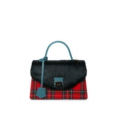 Borsa donna Kate green Check